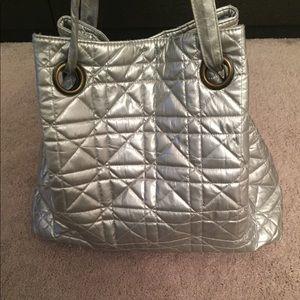 Large Silver Buddha Bag